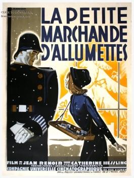 Affiche de la Petite Marchande d'Allumette (Jean Renoir)