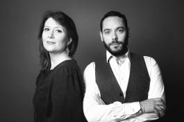 Julie Goron et Pierre Maurel