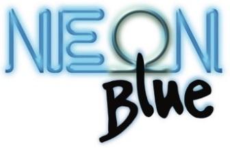 Logo Neon Blue