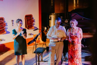 Mme Rougevin-Baville Hérail, Mr Eric Lesage et Mme Jacqueline Coquet