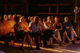 Public du château Caze