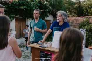 François-Frédéric Guy et Tedi Papavrami en dédicace