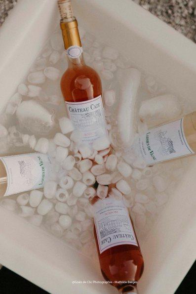Les vins du Château Caze